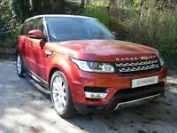 Land Rover Range Rover Sport SDV6 HSE (red) 2014-03-01