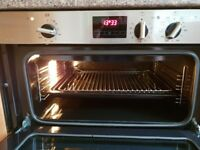 electric double oven by Baumatic