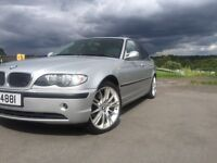 Bmw 320d 6speed 150bhp silver fsh