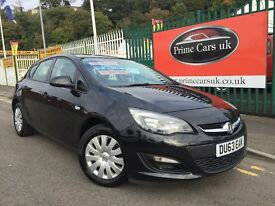 2013 63 Vauxhall Astra 1.6 i VVT 16v Exclusiv 5dr Petrol 5 Speed Manual Low Miles
