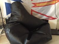 Adult sized Beanbag Chair, excellent condition!