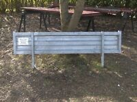 TRAILER HEADBOARD 6FT-6IN GALVANISED NEW/UNUSED 2 AVAILABLE £50 EACH..