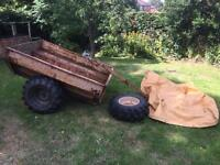 Quad bike trailer, sankey, forestry, Land Rover , timber trailer,