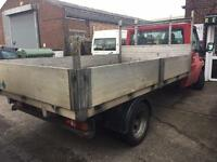 Ford transit 350 LWB ALLEY DROP SIDE +MOT + not recovery truck/not tipper/luton van