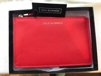 Lulu Guinness red pouch/wallet BNWT