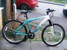 "LADIES 26"" WHEEL BIKE 17"" ALUMINIUM FRAME HARDLY USED IN GREAT WORKING ORDER"