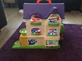 Ideal xmas present toot toot house.