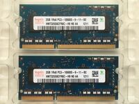 4Gb (2 X 2Gb) RAM DDR3 SODIMM memory for Apple MacBook Pro