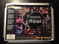 Audix Microphones DP-QUAD Drum kit Set