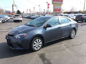 2014 TOYOTA COROLLA LE - REAR VIEW CAMERA, HEATED SEATS, KEYLESS