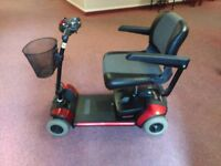 Pride go go mobility scooter SOLD