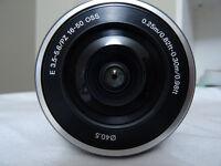 Sony SELP1650 E Mount - 16-50mm F3.5-5.6 OSS Power Zoom Lens