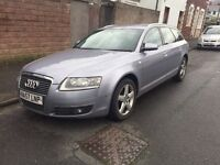 2007. Audi A6 2.0 authentic TDI diesel new MOT