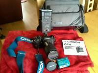 Chinon Camera & Miranda Lense +