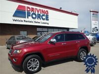 Ruby Red 2014 Jeep Grand Cherokee Limited 4x4 SUV, 13,249 KMs