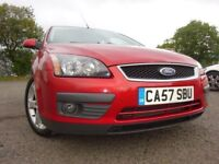 57 08 FORD FOCUS TDCI SPORT DIESEL,MOT JULY 019,2 OWNERS,PART HISTORY,2 KEYS,LOVELY EXAMPLE