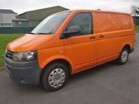 VW T5 2013 13 transporter T32 140 Bhp, RAC orange, tailgate NO VAT