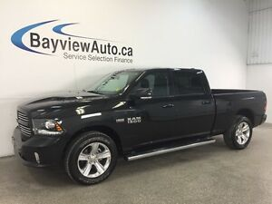 2016 Dodge RAM 1500 SPORT- HEMI! SUNROOF! LEATHER! NAV! REV CAM!