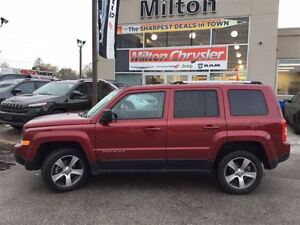2016 Jeep Patriot HIGH ALTITUDE 4X4|LEATHER|NAVIGATION|SUNROOF