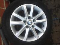 ** BMW alloy wheels sport alloys absolutely mint condition vw skoda seat etc
