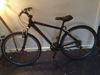 python lean mountain bike 18inch frame 21 speed GOOD CONDITION