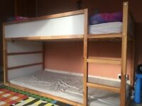 IKEA Kura reversible bed with mattress in excellent condition.
