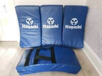 Kick Shields/Kick Pads, £20 each. Hayashi Curved. Suitable for all martial arts.