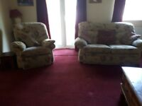 3 and 2 seatersofa and armchair
