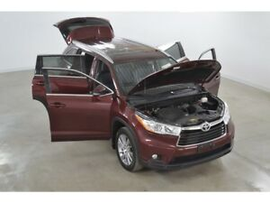 2014 Toyota Highlander XLE 4WD GPS*Cuir*Toit Ouvrant* 8 Passager