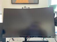AOC 32 inch 1440p 144Hz monitor