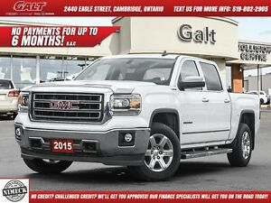 2015 GMC Sierra 1500 SLT | LEATHER | BACK UP CAM |