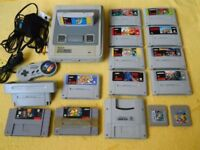 SNES MEGADRIVE NES N64 RETRO WANTED PLUS GAMES LEEDS AREA ONLY