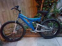 "Mans Mountain Bike 26"" wheels"