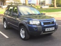 2006 LANDROVER FREELANDER 2.0 TD4 HSE * LEAHTER * NAV * SUNROOF * S.HISTORY * PART EX * DELIVERY
