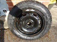 VW Polo Spare Wheel Never Been Used 165 / 70 R14