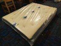 BRAND NEW 4.6ft Double Sprung Mattress ** ONE ONLY BARGAIN **