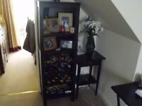 IKEA HEMNES BOOKCASE BLACK/BROWN