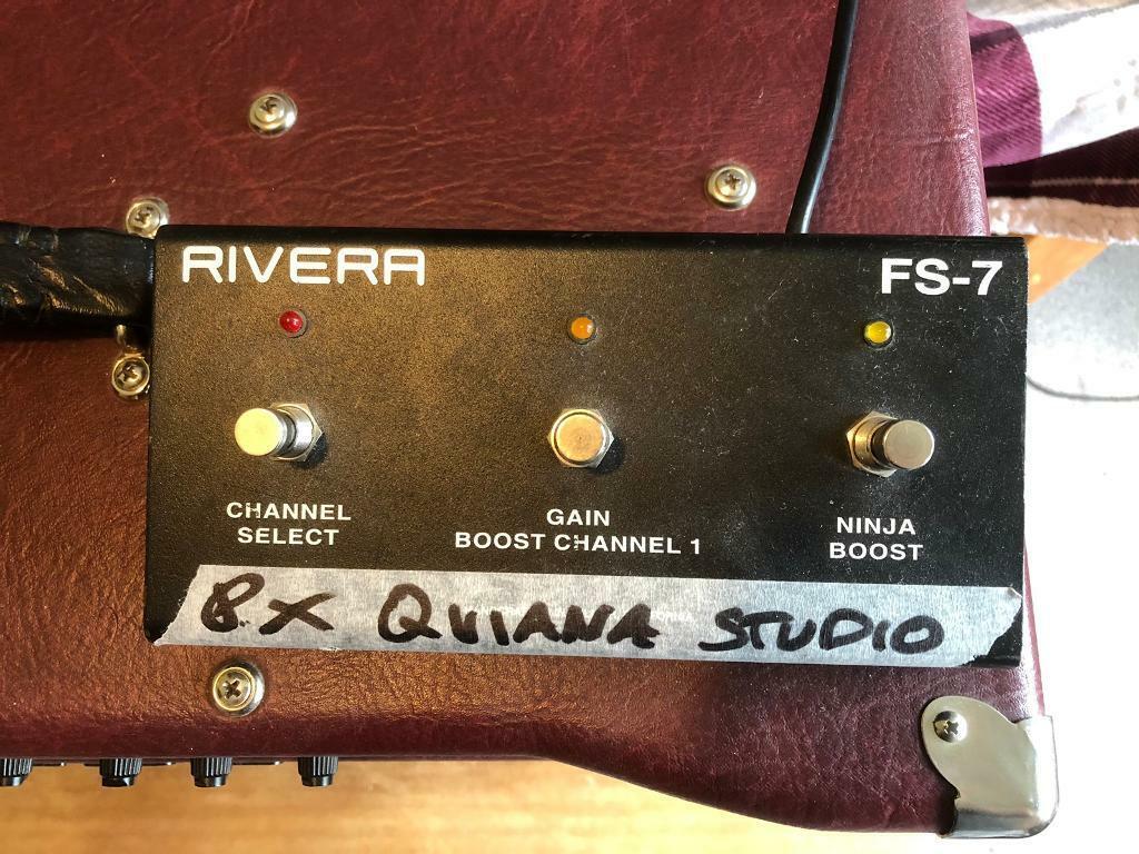 FS/FT: Rivera Quiana Studio 55 2x12 guitar combo | in Willowbrae, Edinburgh  | Gumtree