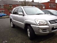 2005 KIA SPORTAGE 2.0 CRDI XS Automatic, 4x4, LEATHER, been Serviced and MOT Feb 2018
