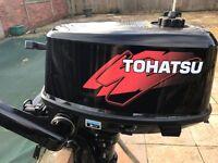 Tohatsu mercury mariner 5hp 2 stroke outboard