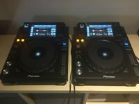 Pioneer XDJ1000 (pair) excellent condition boxed
