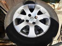 peugeot wheels x4