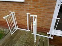 Lindam safety gates 2 units