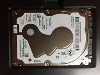 SSHD HDD 500 GB Seagate ST500LX012 Hybrid HDD + SSD Drive thin 5mm