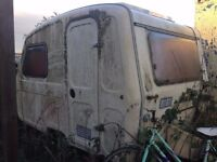 CARAVAN FOR SALE AS SPARES OR REPAIRS/PROJECT
