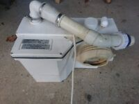 Turboflush T11 Macerator Pump 1100w, 240v for WC Toilet and Basin