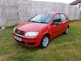 Bargain Fiat Punto 1.2 8v 5 dr 12 Months MOT Full Service History 77000 miles Immaculate throughout