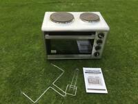 Murphy Richards mini oven and 2 hobs