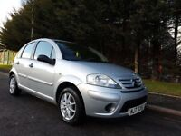 MAY 2007 CITROEN C3 DESIRE 5DOOR 1.4 HDI TURBO DIESEL 1OWNER FROM NEW FULL SERVICE HISTORY £30 TAX !