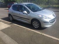 Peugeot 207 1.4 petrol 16v 2007 Low Mileage only 35,000 Cat C